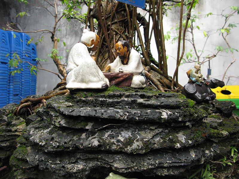 wiątynia Literatury - drzewka bosai