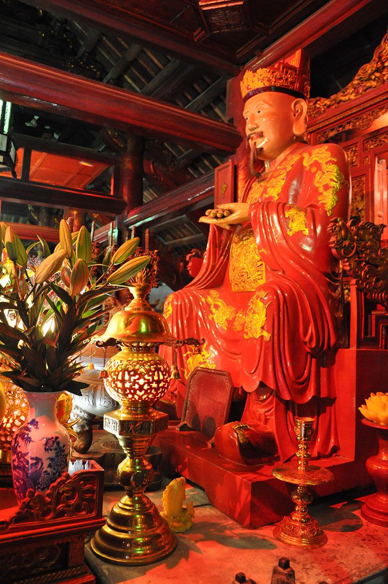 Ołtarz Konfucjusza - świątynia Literatury Wietnam