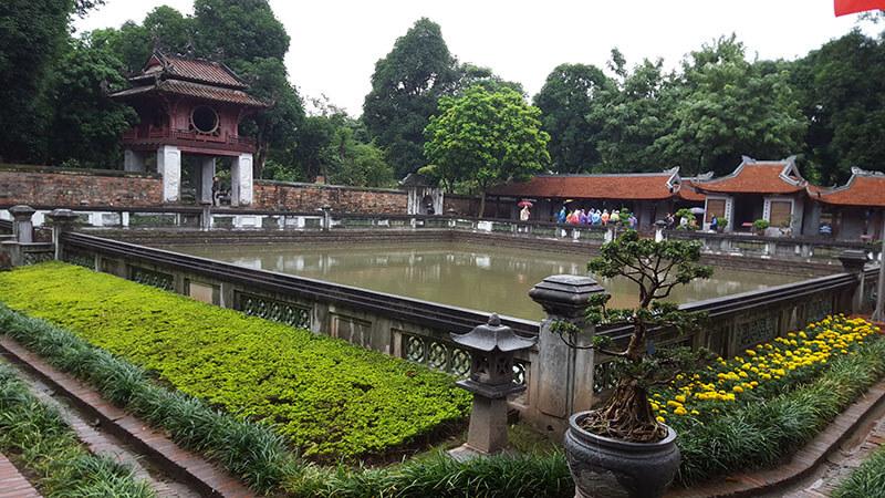 Świątynia Literatury Patio