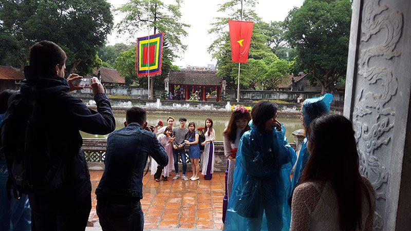 Świątynia Literatury na cześć Konfucjusza - Wietnam