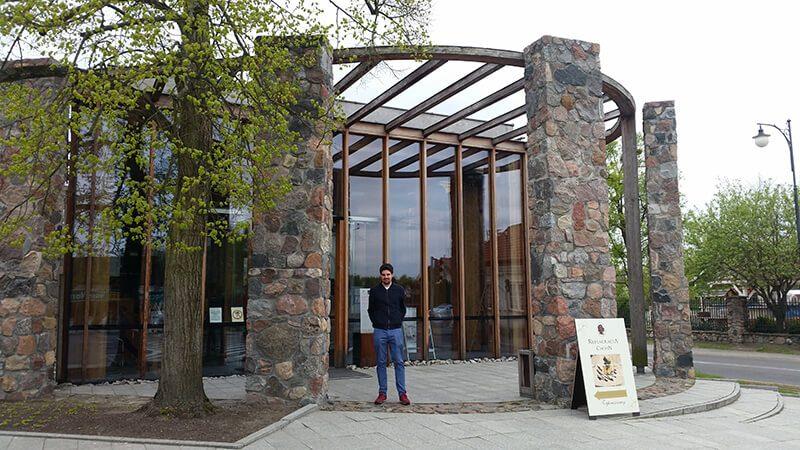 Dom Fryderyka Chopina - wejście głowne