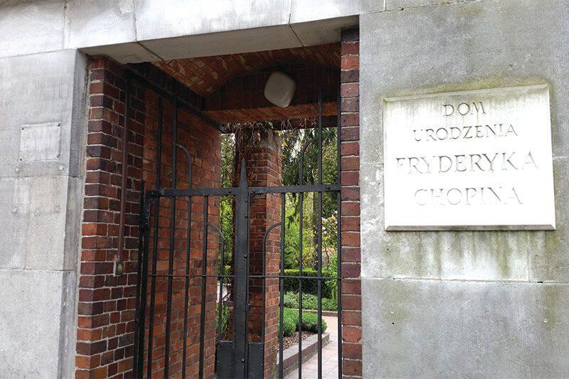 Dom Fryderyka Chopina - wejście