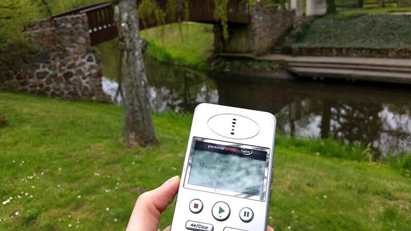 Dom Fryderyka Chopina - audioprzewodnik w parku