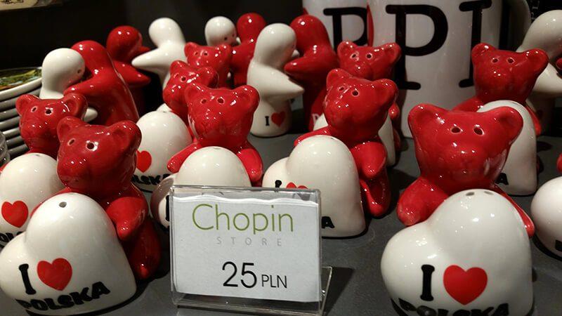 Dom Fryderyka Chopina - sklep z pamiątkami
