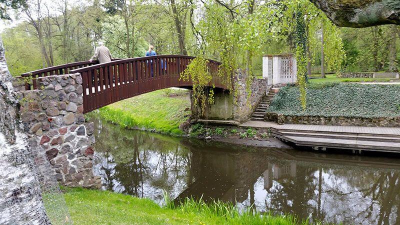 Dom Fryderyka Chopina - park