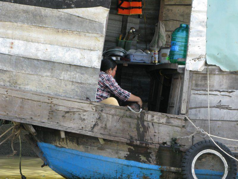 Życie na wietnamskiej łodzi