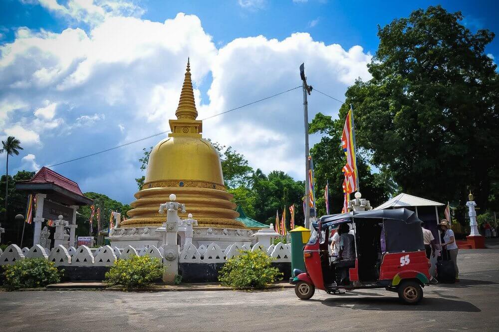 Dambula świątynie buddy Sri Lanka