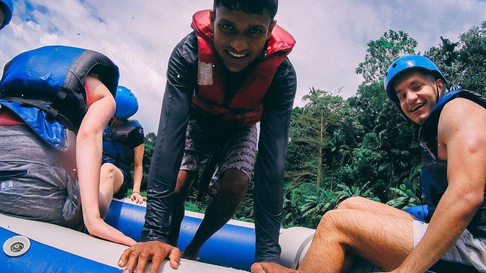 Rafting na Sri Lance