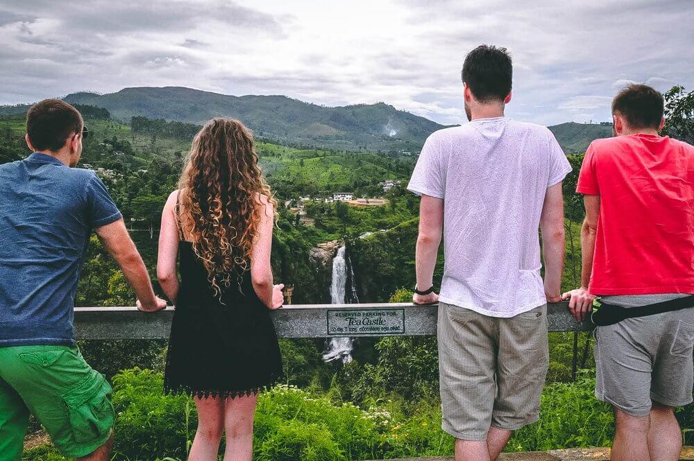 Wodospad Devon - Sri Lanka