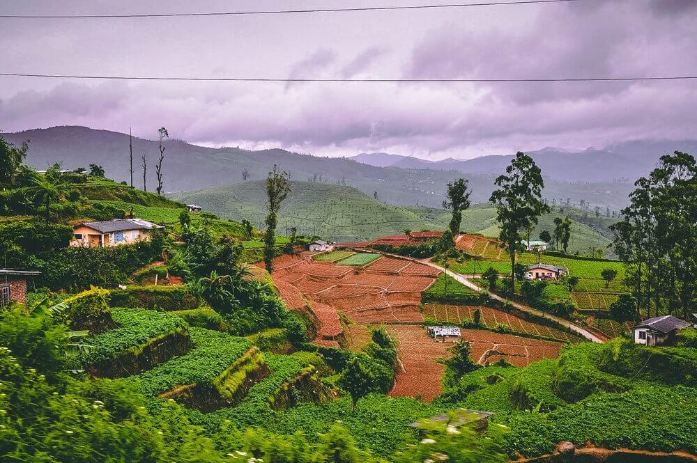 panoramy na Sri Lance