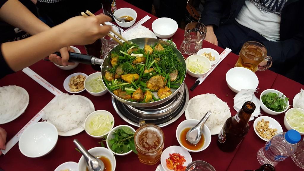 Wietnam - smażony sum