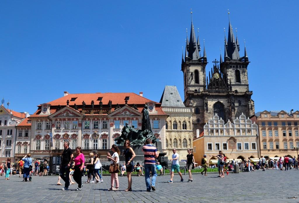 Praga - rynek główny