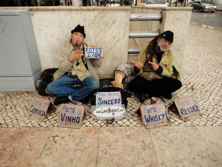 Lizbona- bezdomni