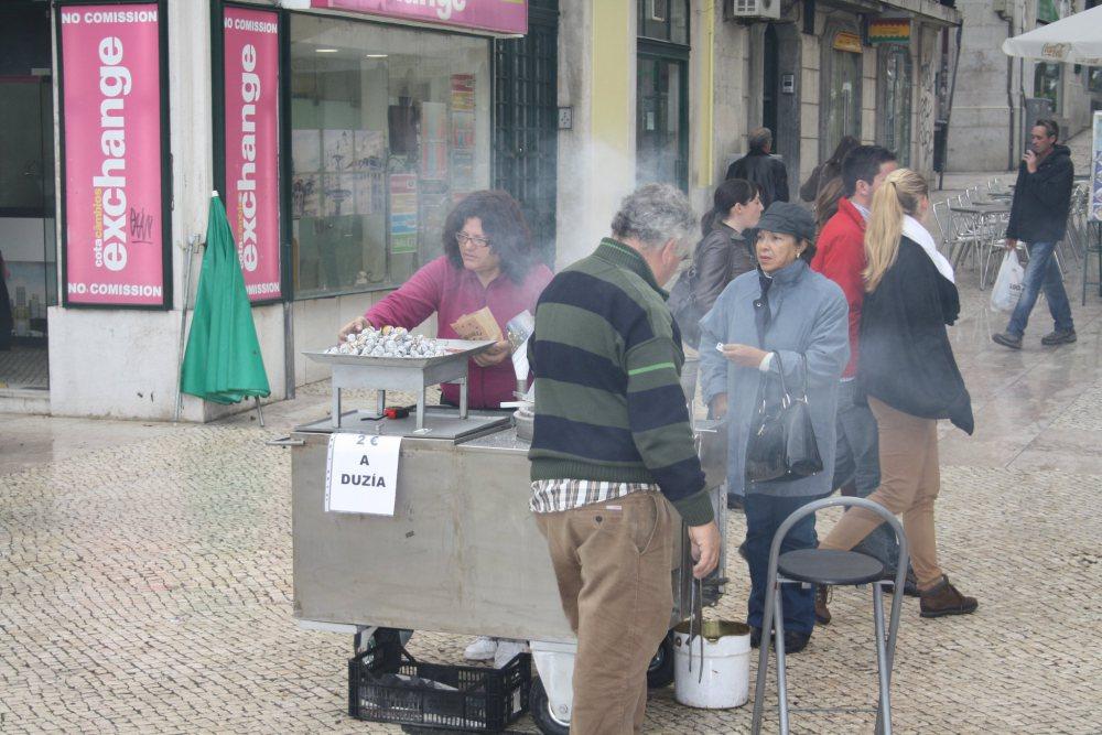 Lizbona - kasztany
