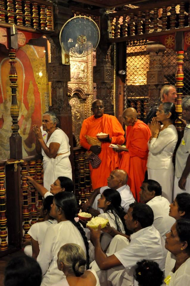 Sri Lanka - Świątynia Zęba Buddy