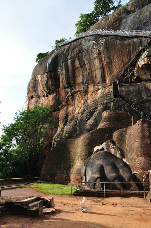 Sigiria - Lion Rock