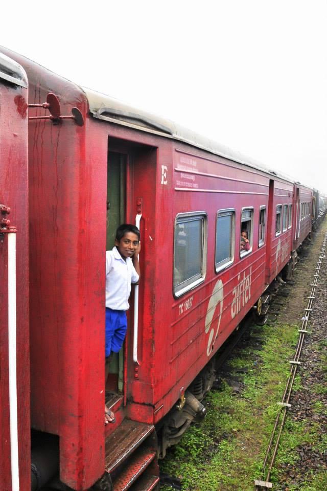Sri Lanka pociąg do Ella