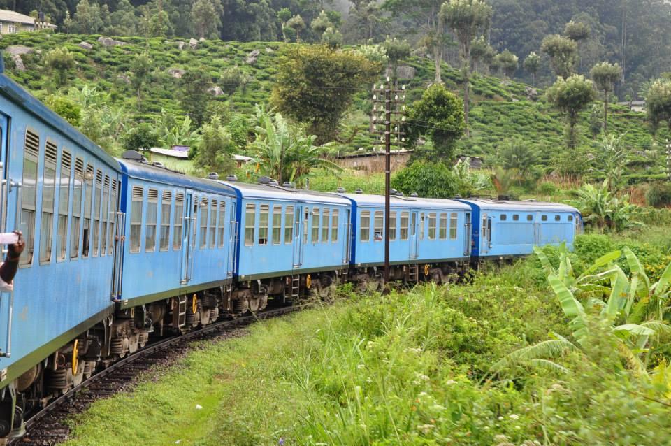 Sri Lanka - podróż pociągiem do Ella