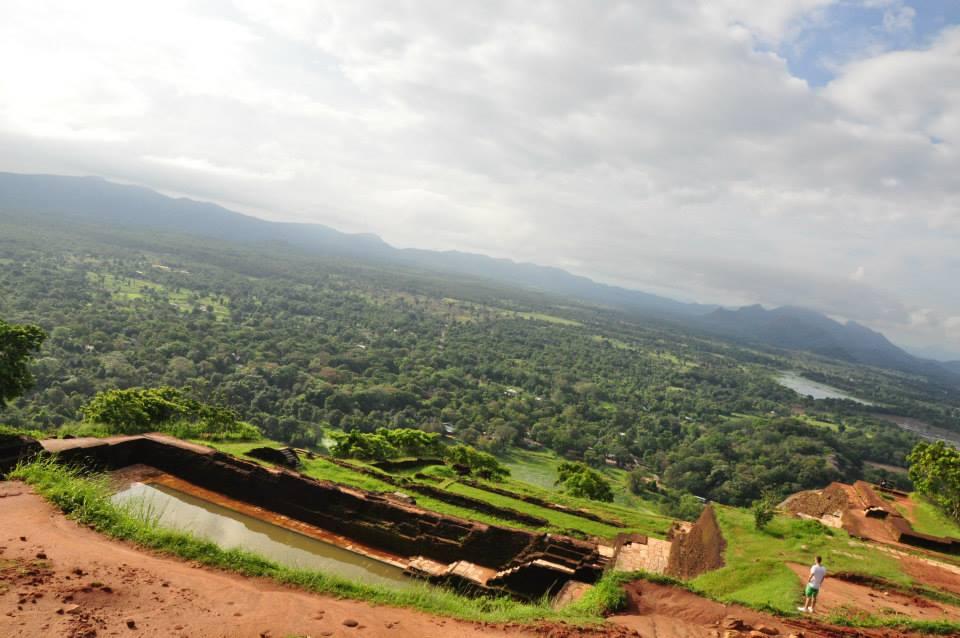 Sri Lanka - sigiria widok z góry