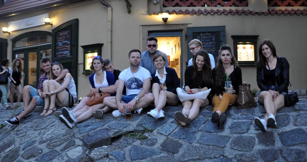 praga - podróż w dużej grupie