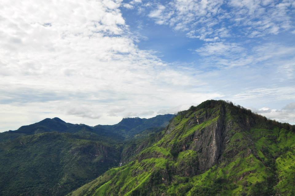 Sri Lanka - Little Adam's peak - widok