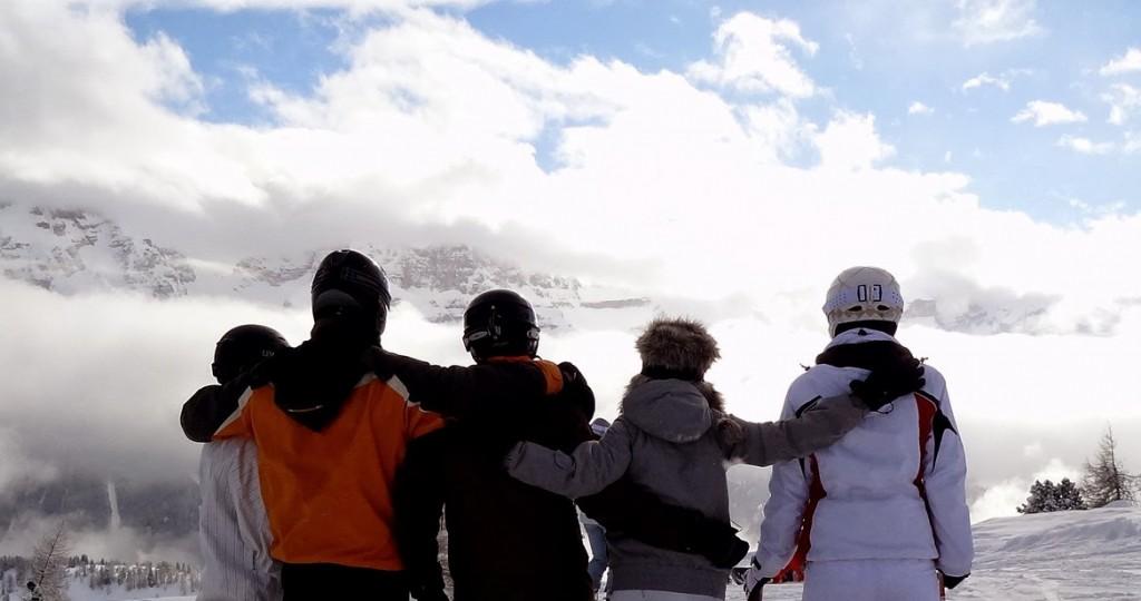 Zimowy wyjazd ze znajomymi