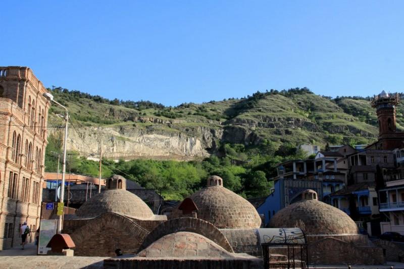 Łaźnie w Tibilisi - Gruzja