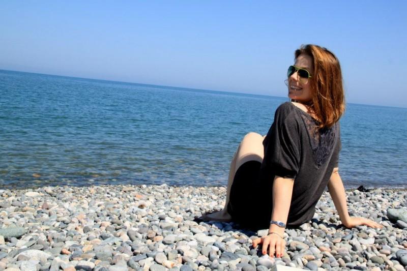 Plaża w Batumi - Gruzja