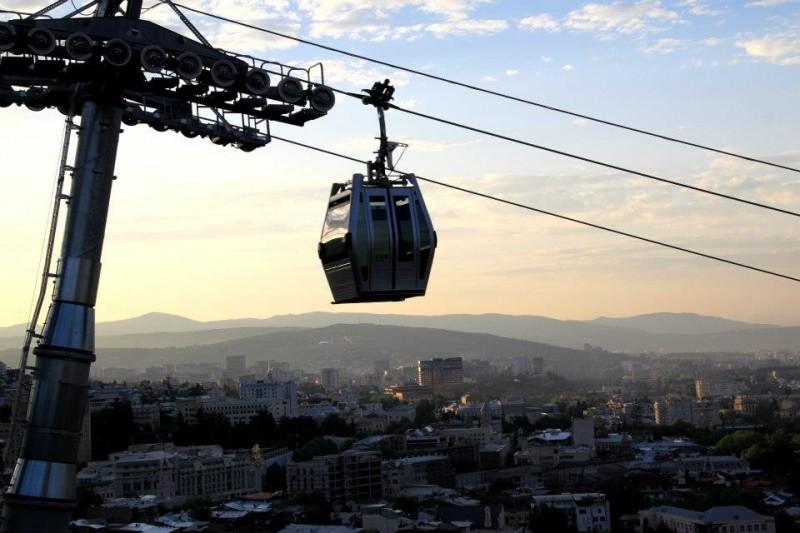 kolejka linowa w Tibilisi