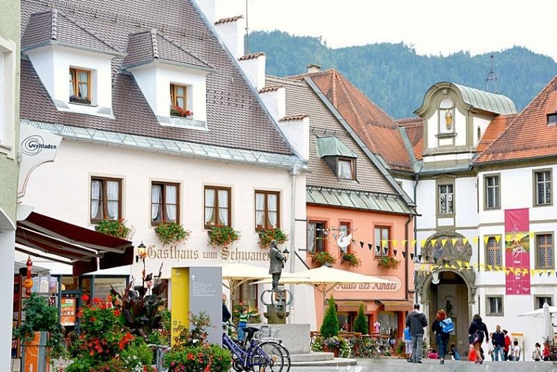 Fussen - piękne bawarskie miasto