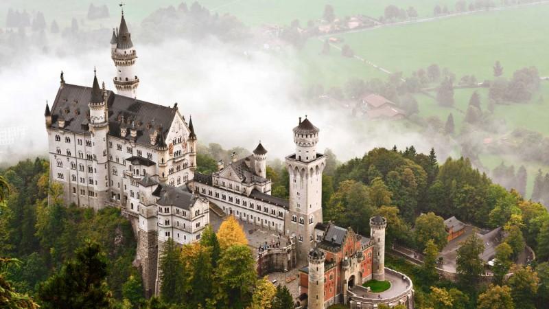 Jak wygląda Zamek Neuschwanstein