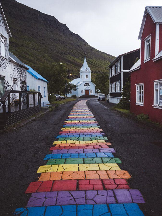 miasteczko Seydisfjordur