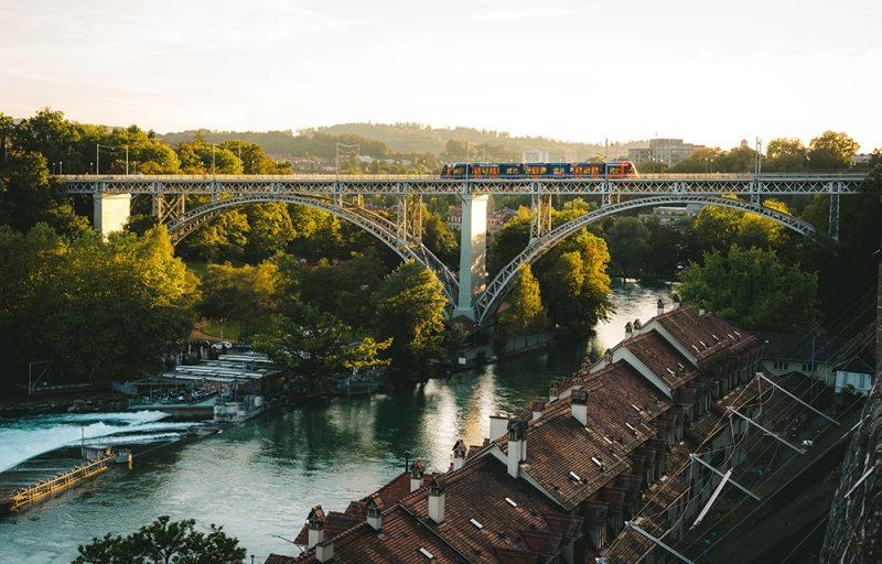 szwajcarskie pociągi