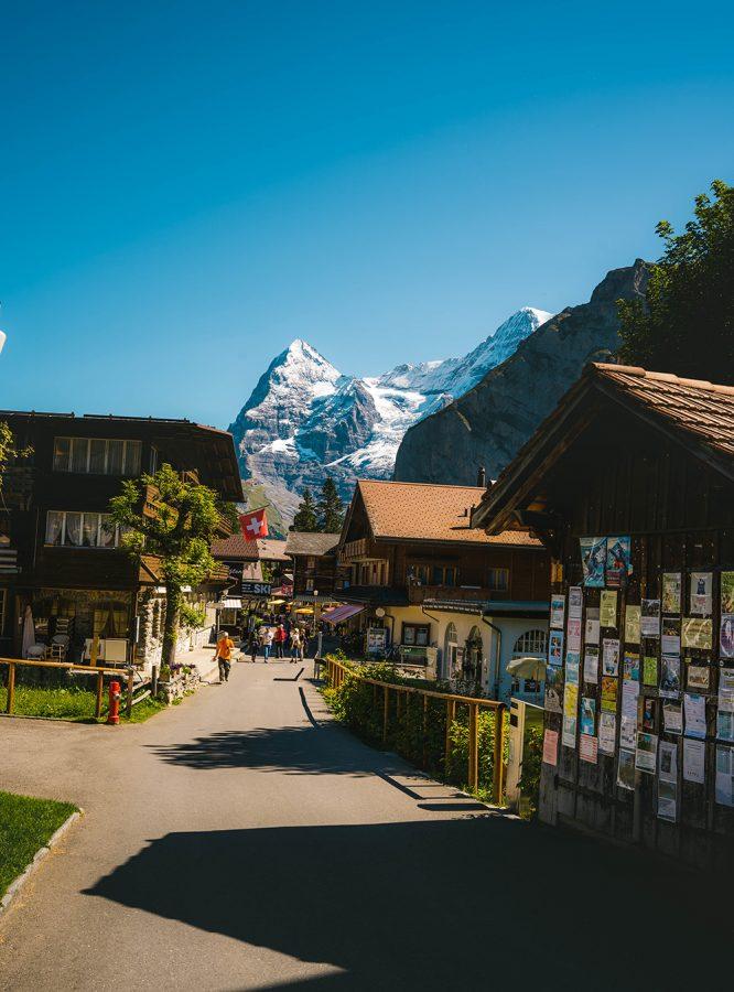 alpejskie miasteczko Murren