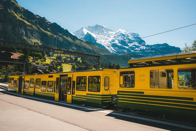 Jungfraujoch kolejka