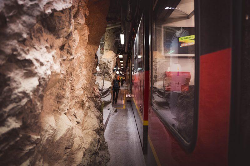 stacja końcowa na Jungfraujoch