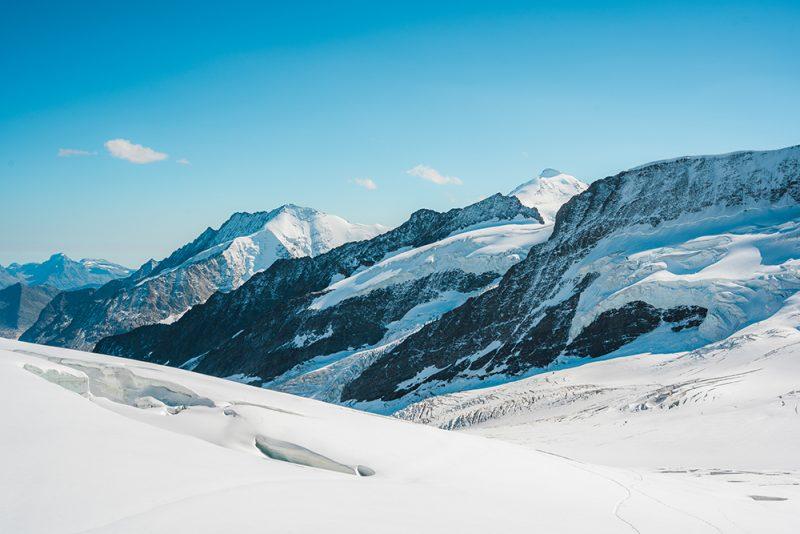 Jungfraujoch - przełęcz