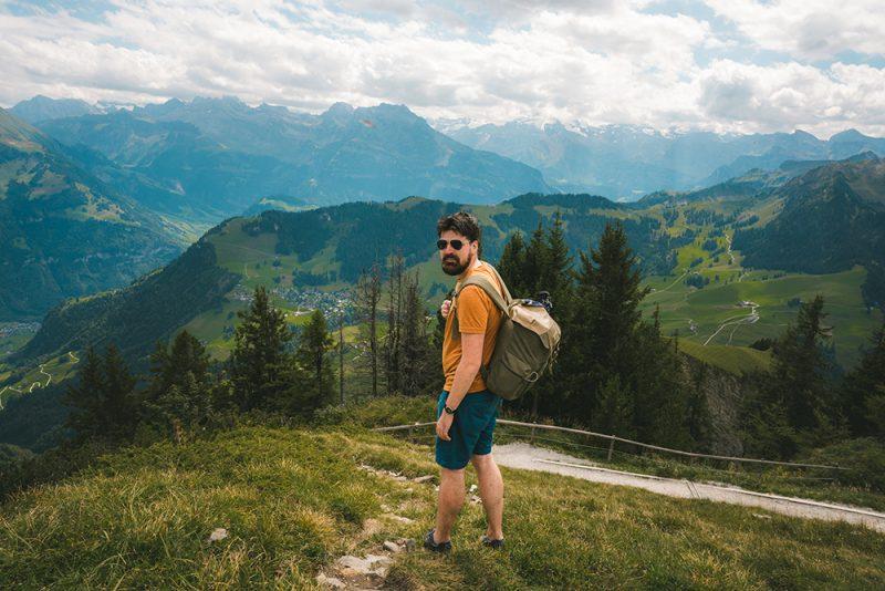 szwajcarski szczyt Stanserhorn