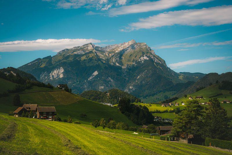 Stanserhorn widoki na inne góry