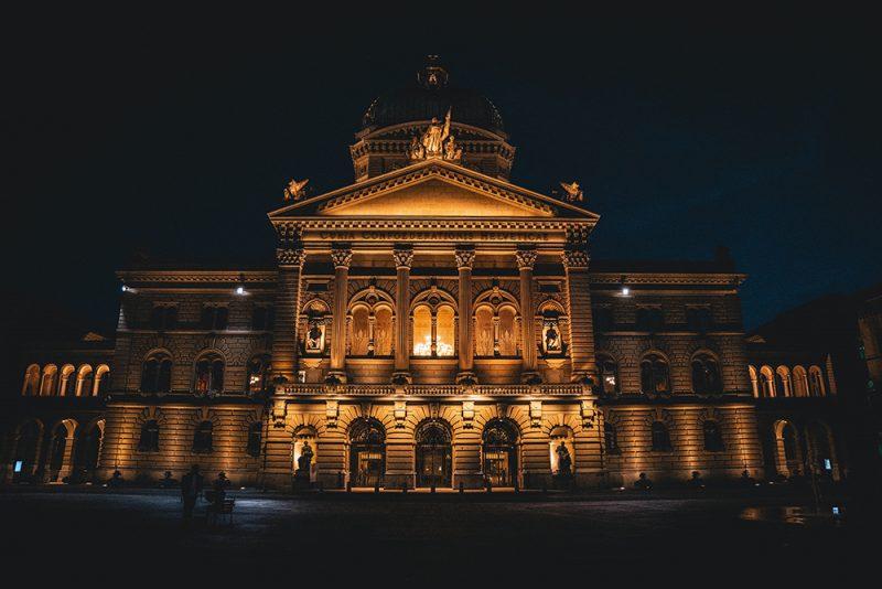 Budynek parlamentu w Bernie