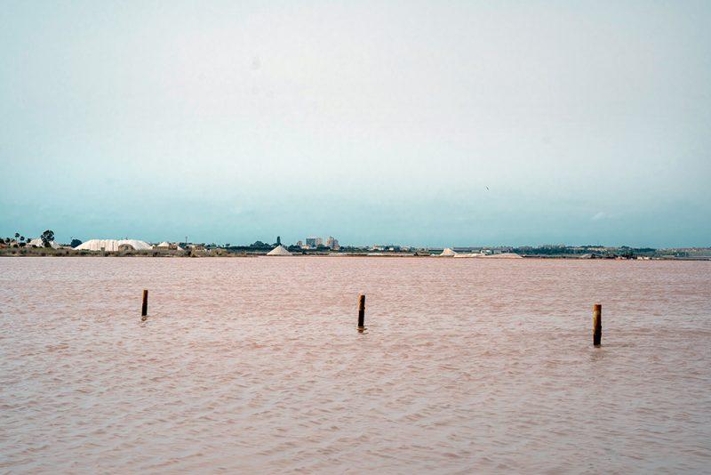 Salada de Torrevieja - różowa laguna w hiszpanii