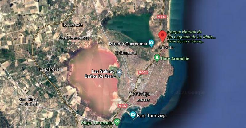 Las Salinas de Torrevieja
