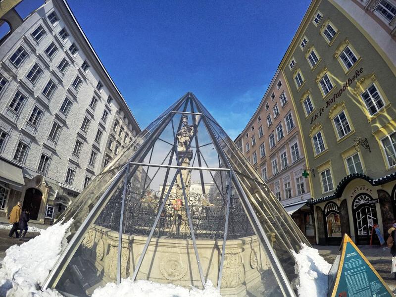 Zwiedzanie Salzburga - Stare miasto