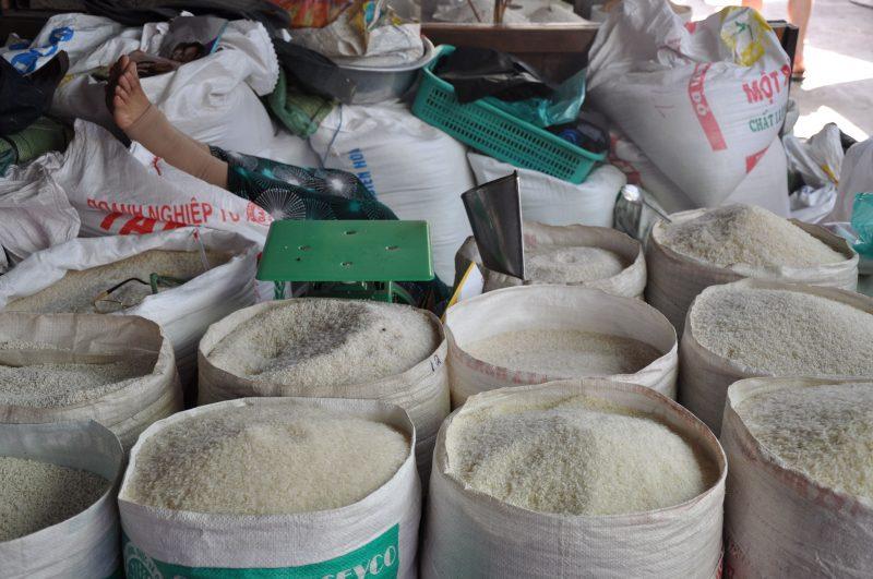 Wietnamski bazar - Delta Mekongu