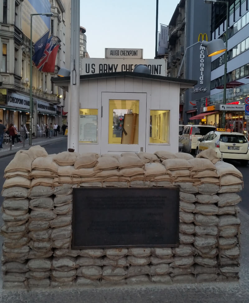 Checkpoint Charlie - border