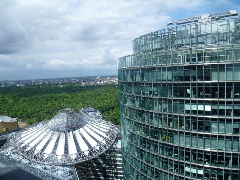 PotsdamerPlatz widok z góry