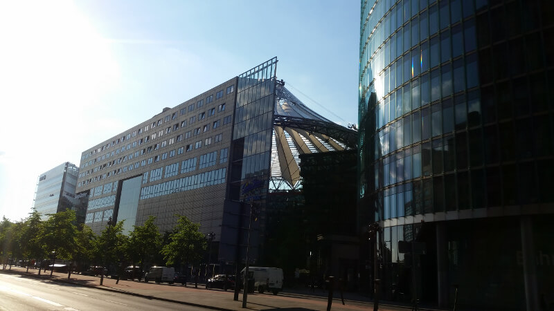 Corporation on Potsdamerplatz