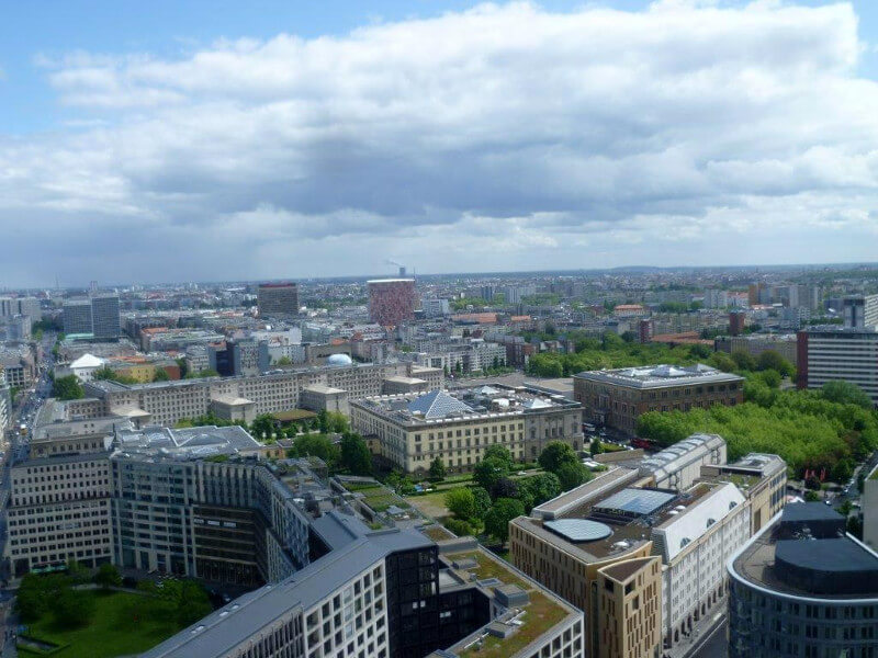 Berlin from top
