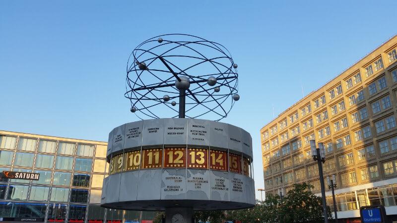 Zegar Świata Berlin