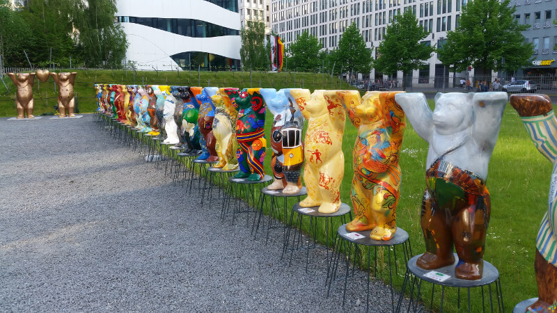 Symbol Berlina niedźwiedzie